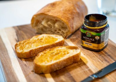 Manuka Honey on Bread