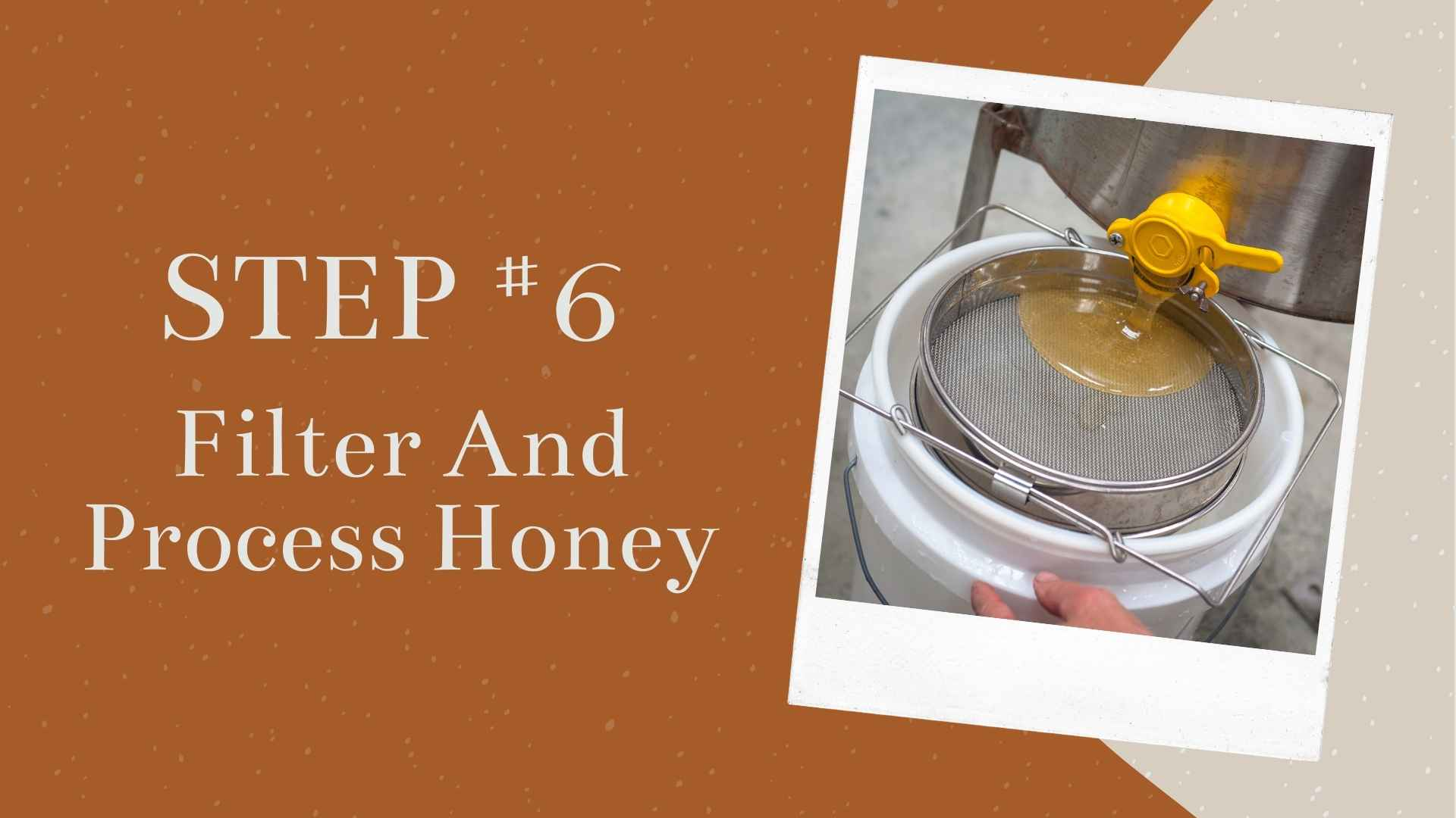 Step #6 Filtering And Processing The Honey